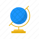 globe, map, network, world icon