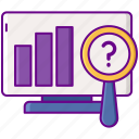analytics, chart, graph, computer