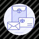 2, advertising, brand, branding, document, envelope, letter, logo, marketing icon