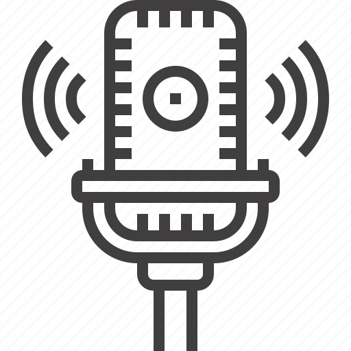 audio, communication, media, microphone, multimedia, music, sound icon