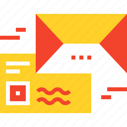 address, communication, email, letter, mail, marketing, message icon