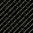 crosshair, dart, focus, game, goal, target icon