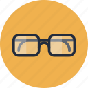 business, creative, eyeglasses, geek, glasses, hipster, item, look, looking, marketing, nerd, office, personal, smart, vision, web icon