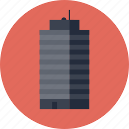 building, business, city, futuristic, global, marketing, modern, skyscraper, tower icon