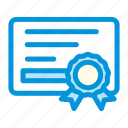 achivement, business, certificate, marketing, startup icon