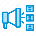 advertising, business, horn, marketing, megaphone, startup icon