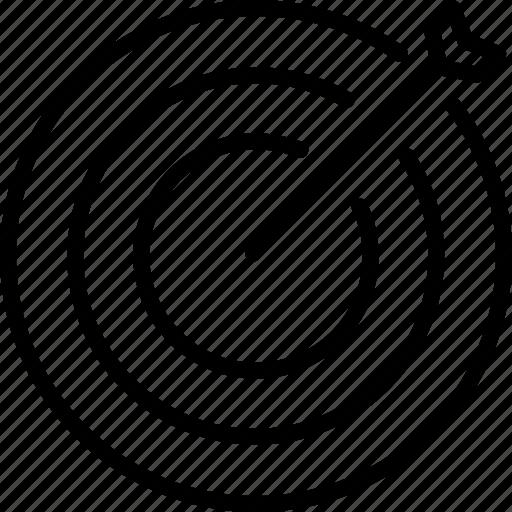 creative, goal, marketing, target icon