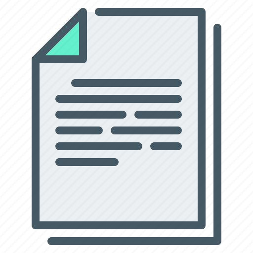 Document, documents, file, paper icon - Download on Iconfinder