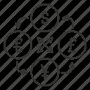 cash, currency, dollar, finance, money, money convert