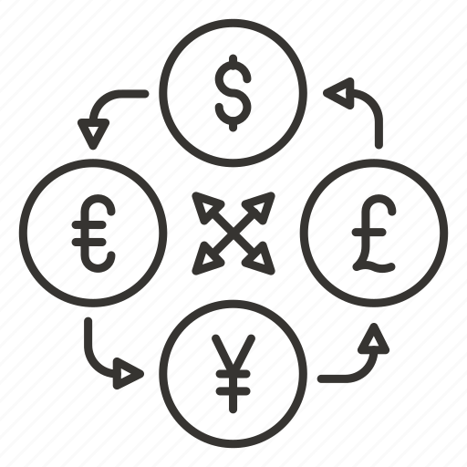 cash, currency, dollar, finance, money, money convert icon