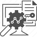 seo report, analysis, result, stadistics, file, infographic
