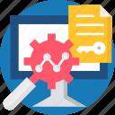 analysis, file, infographic, result, seo report, stadistics