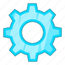 control, gear, options, settings icon