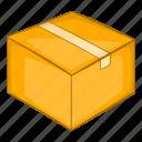 box, cardboard, product icon