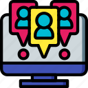 selling, marketing, sales, location, retail, user icon