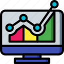 desktop, marketing, projections, retail, sales, selling icon