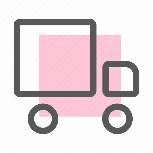 delivery, package, shipping, transport, transportation, truck, vehicle icon