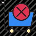 cart, discard, marketing, promotion, seo, ui icon