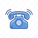 call, landline, phone call, telephone icon