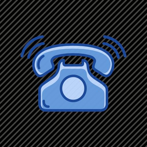 call, landline, phone call, telephone icon