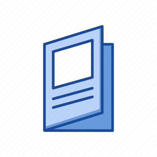 book, magazine, news paper, notes icon