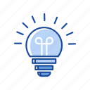 `, bulb, idea, light, light bulb icon