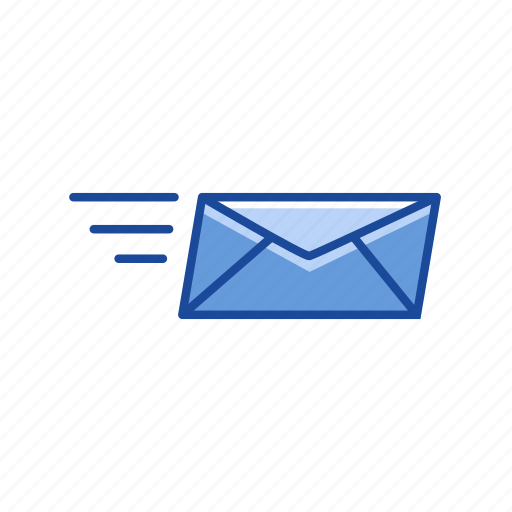 letter, mail, sending letter, sending mail icon