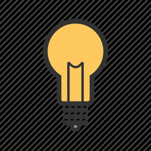 bulb, creative, creativity, idea, innovation icon