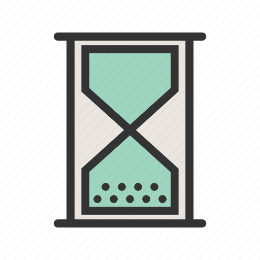 business, countdown, glass, hour, hourglass, time, timer icon