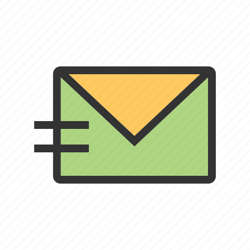 email, message, messages, newsletter, send, web icon