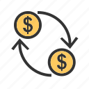 business, currency, dollar, finance, money, transfer