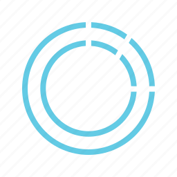 business, chart, charts, circle, doughnut, infographics icon