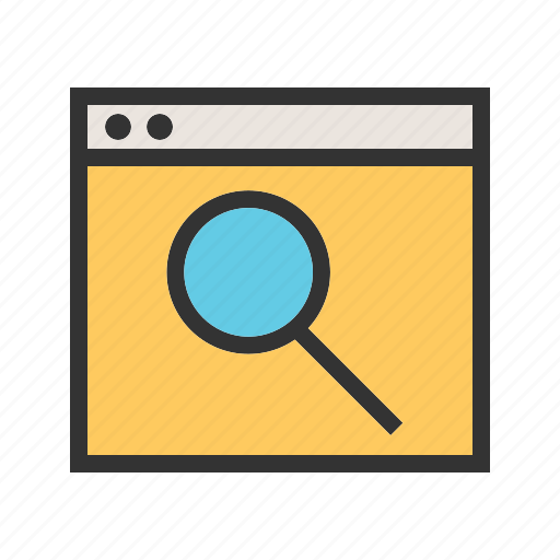 browse, browsing, business, data, information, internet, search icon