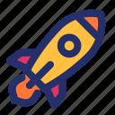 advertising, launch, marketing, rocket, startup