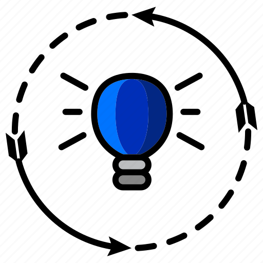 analysis, business, commentary, idea, marketing, seo, solution icon