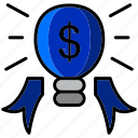 bonus, business, marketing, prize, salary, seo, solution icon
