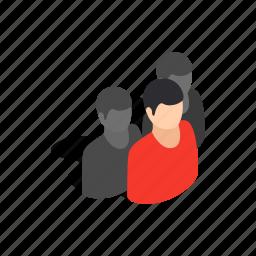 avatar, head, isometric, male, men, person, user icon