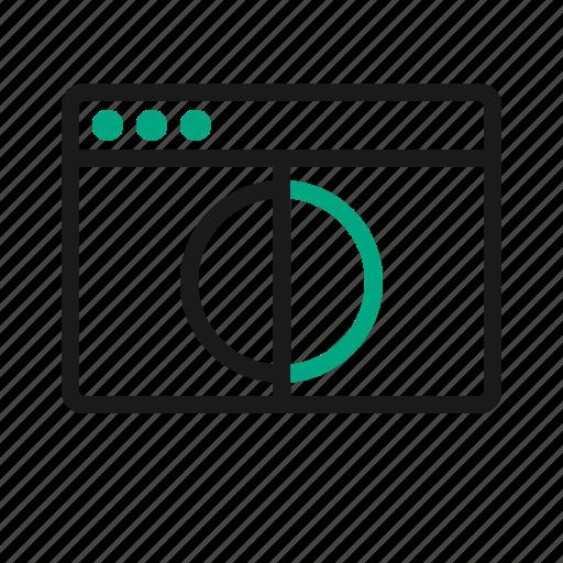 a/b, ab, testing icon