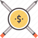 articles, paid, pay, writer icon