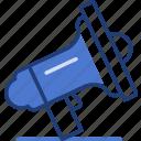 it, loud speaker, marketing, microphone, note, notice, speaker icon