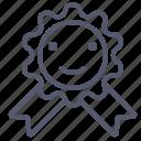 award, emblem, medal, prize