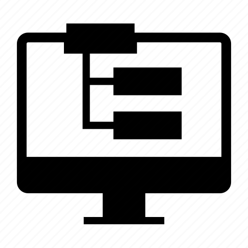 marketing, seo, sitemap icon
