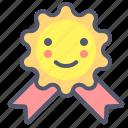 award, emblem, medal, prize icon