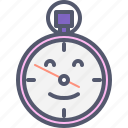 clock, clown, time, watch icon