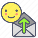 download, envelope, mail, message, send icon