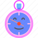 clock, clown, time, watch