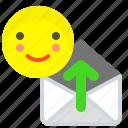 download, envelope, mail, message, send icon