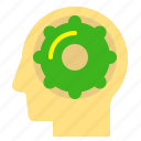 brain, edit, options, responsive, settings, web