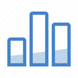 analytics, bar, business, chart, diagram, graph, statistics icon