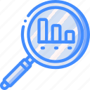 graph, marketing, retail, sales, search, selling icon